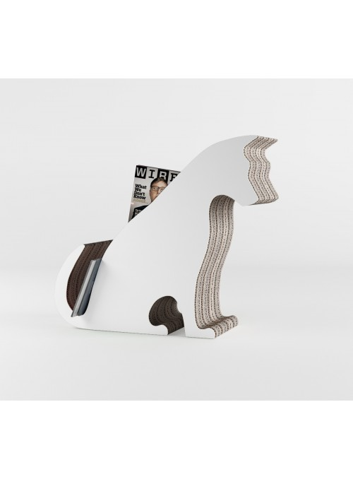 "Cardboard magazine rack ""Jacky"" in colours"