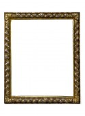 Tortile silver wood frame
