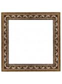 Cornice elegante in legno - Nastro 2 argento