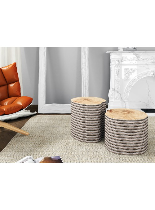 "Cardboard table - stool ""Ceppo"""