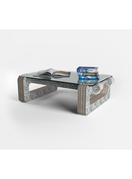 "Tavolino ""Hole"" stampato"