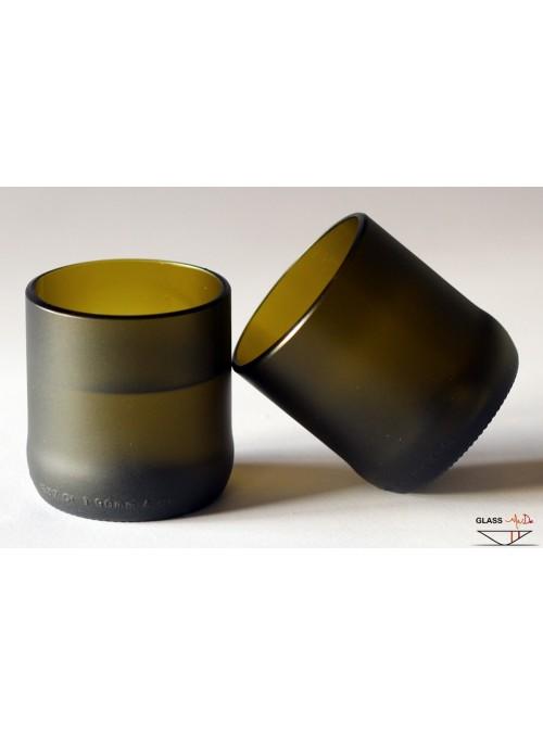 Set di bicchieri tumbler in vetro di recupero - Bel&Basta