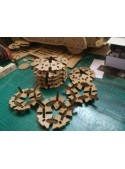 Puzzle 3D in cartone a forma di sfera - Geode