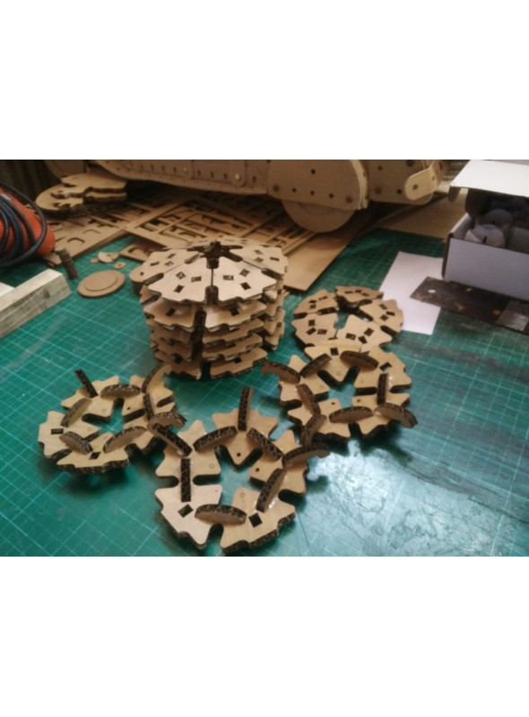 Puzzle 3D in cartone - Geode