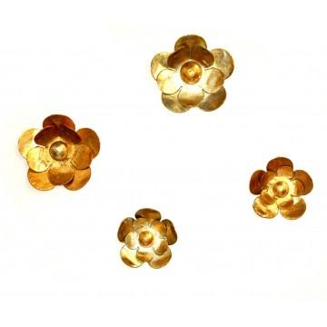 Appendiabiti in ferro battuto - Flower