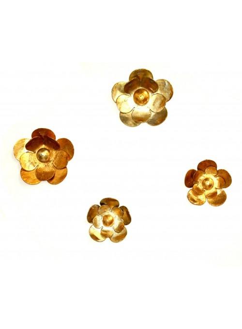 Appendiabiti in ferro battuto piccolo - Flower