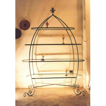 Librerie e mensole artesan bazar lo shop online dell for Mensole in ferro battuto