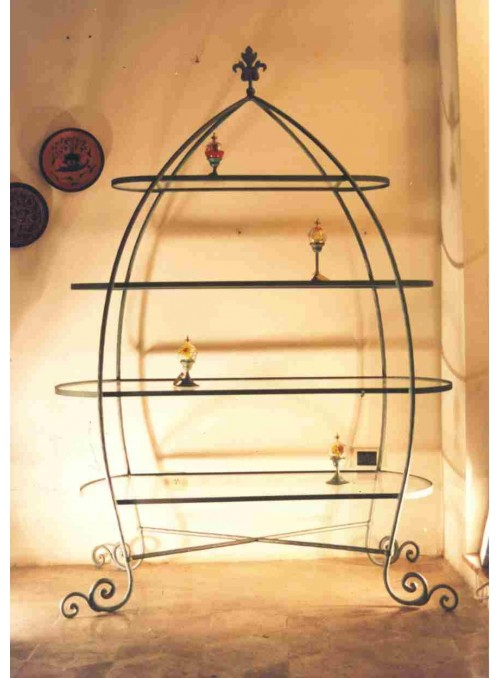 Etagere in ferro battuto - Mirti