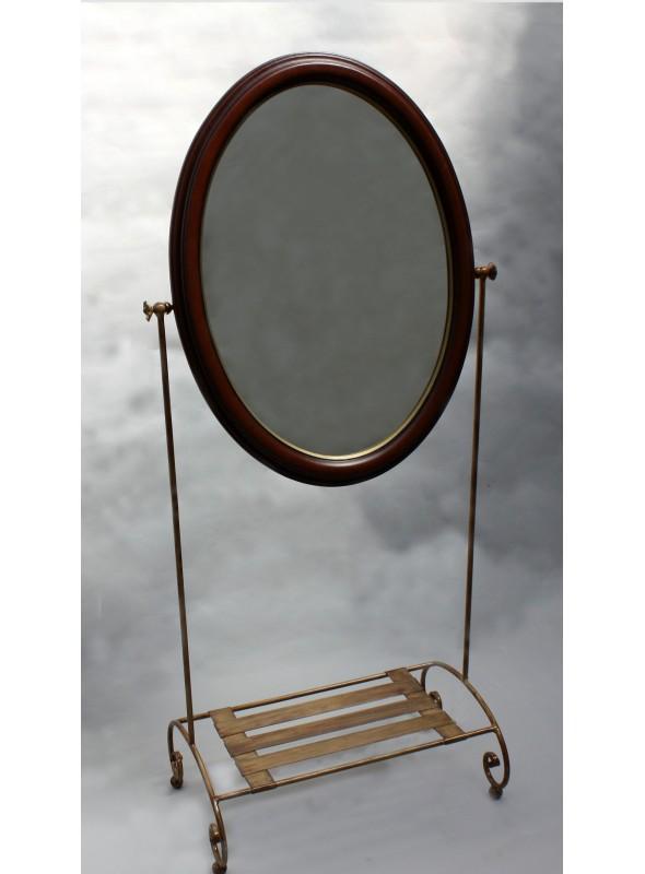 Specchiera in ferro battuto piccola - Hesiodos