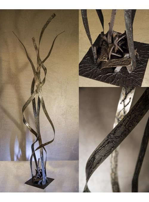Scultura in ferro battuto - Lianas