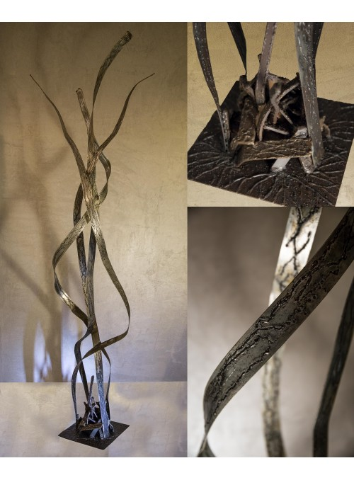 Wrought iron sculpture - Lianas