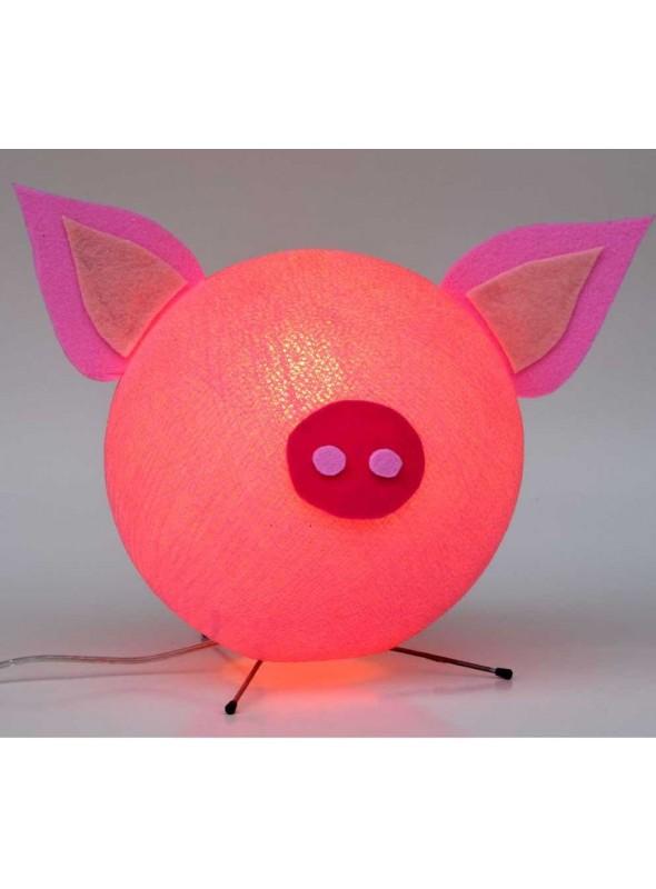 Lampada da tavolo colorata per bambini - Piggy