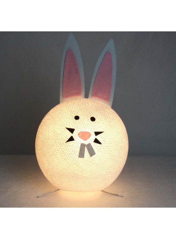 Table lamp in bunny shape