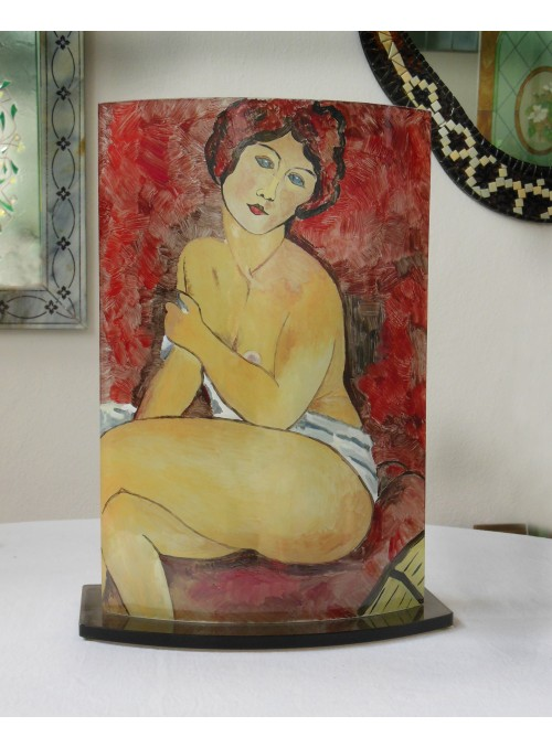 Ornament inspired by Modigliani - Rossana