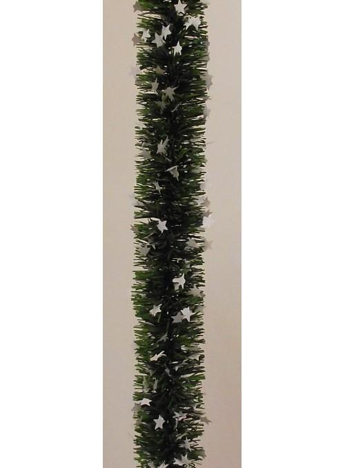 Ghirlanda verde con stelline
