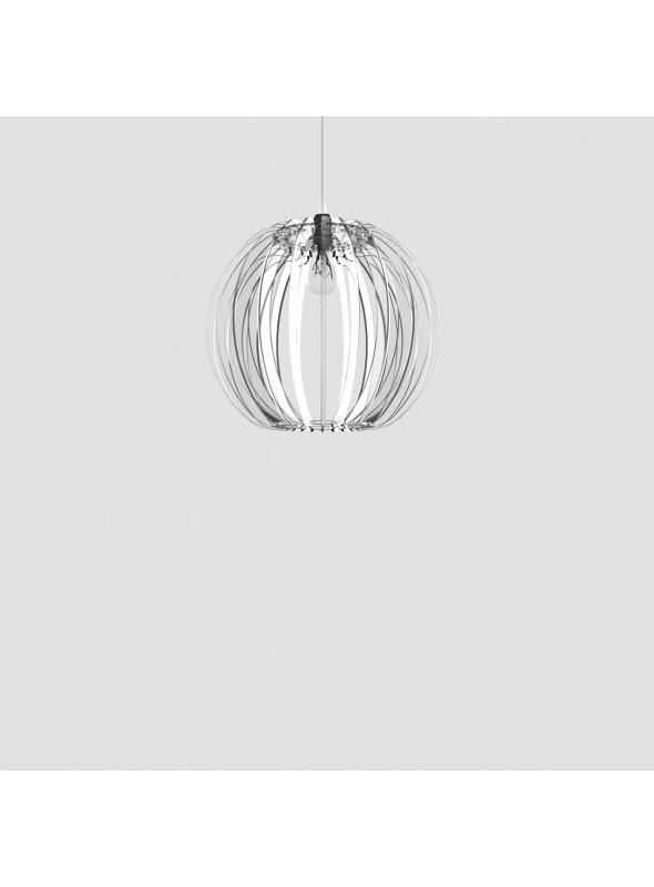 Lampada in plexiglass trasparente - Sfera 40