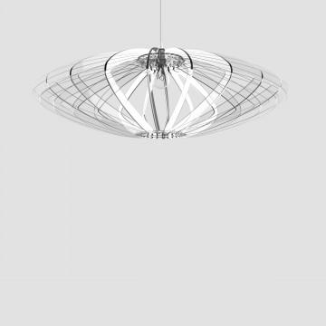 Transparent plexiglass lamp - Disco 88