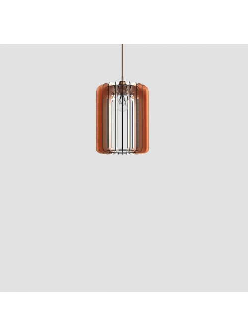 Lampada in d-bond colorato - Cilindro 30