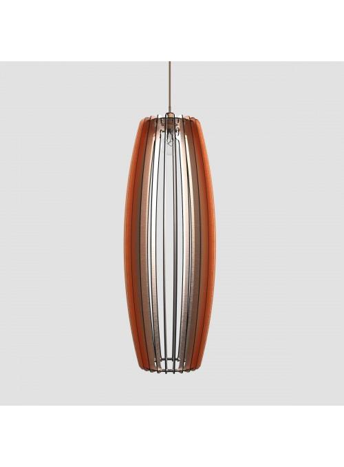 Lampada in d-bond colorato - Fuso 30