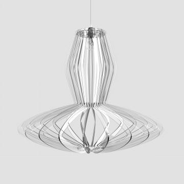 Transparent plexiglass lamp - Gilda