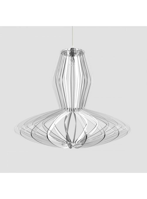 Lampada in plexiglass trasparente - Gilda
