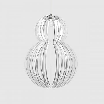 Lampada in plexiglass trasparente - Mina