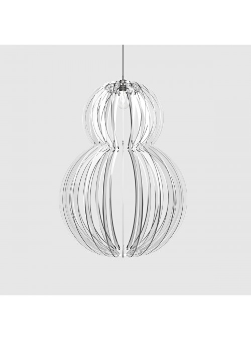 Transparent plexiglass lamp - Mina