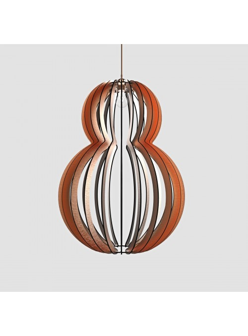 Lampada in d-bond colorato - Mina