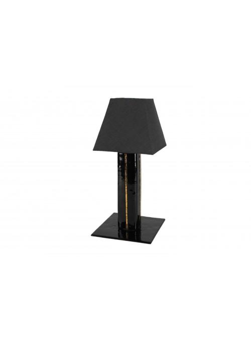 Set abatjour vetro fusione - Black