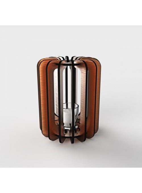 Coloured dbond lantern - Cilindro tlight