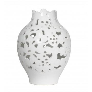 Luce campana in ceramica liscia piccola