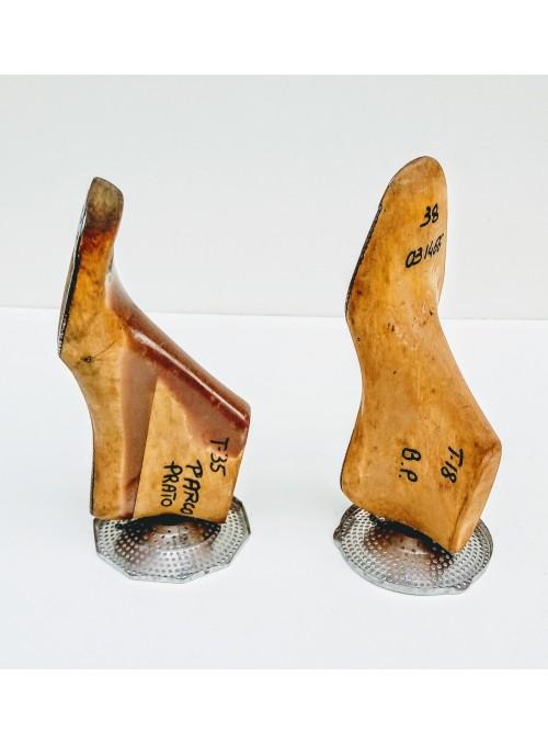 Fermalibri ricavati da forme per scarpe in legno - Filters