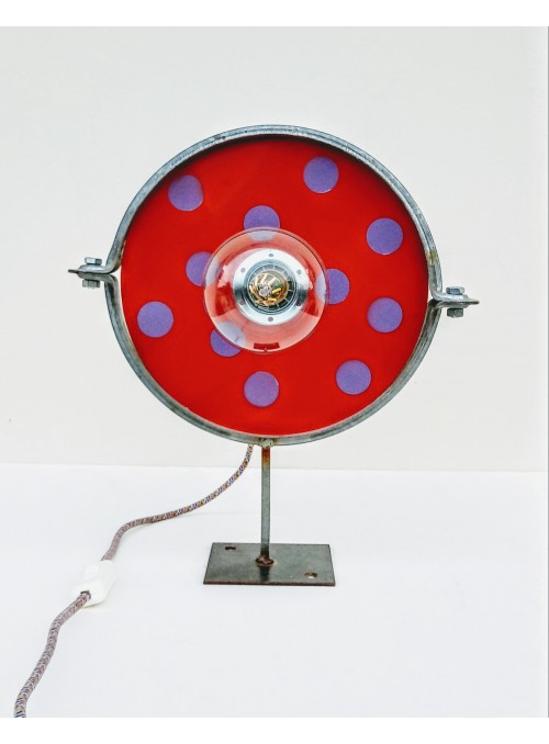 Lampada ricavata da un fermatubi industriale - Lighting tube