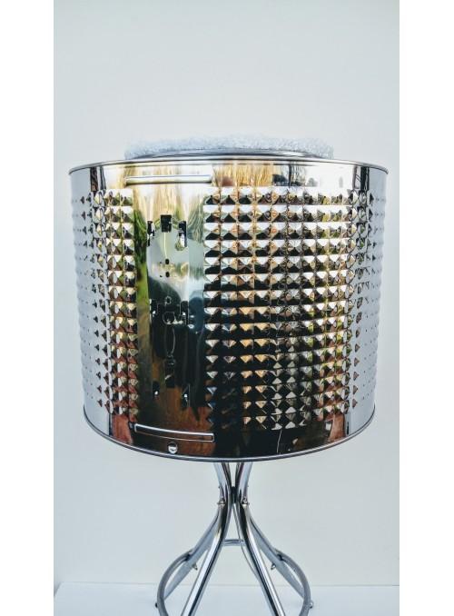 Lampada ricavata da materiali di recupero - Luce pulita