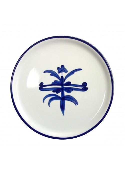 Piatto da portata in porcellana dipinta - Antico ragno