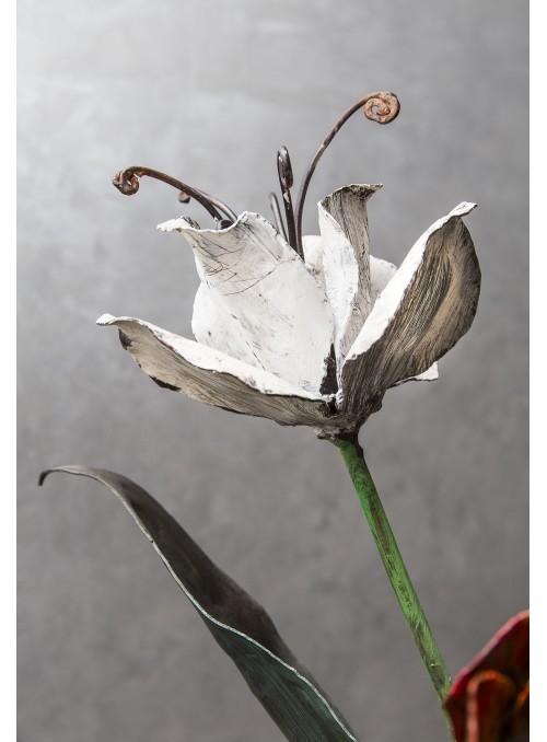 Tulipano in ferro battuto