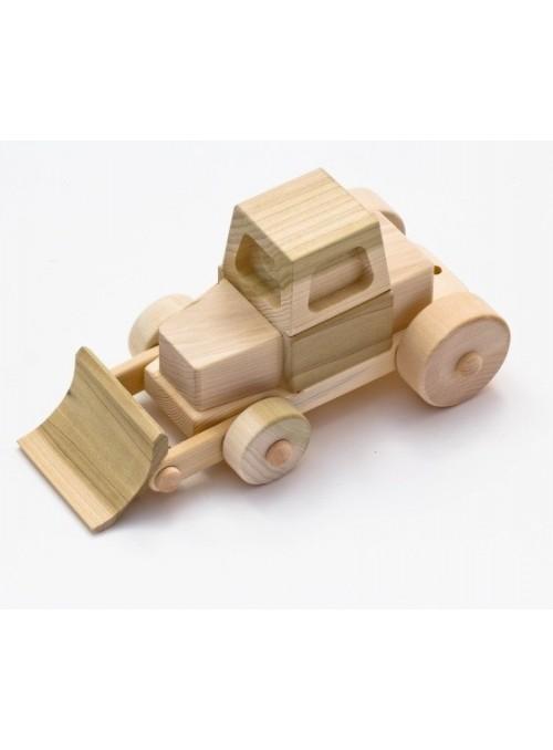 Ruspa giocattolo in legno