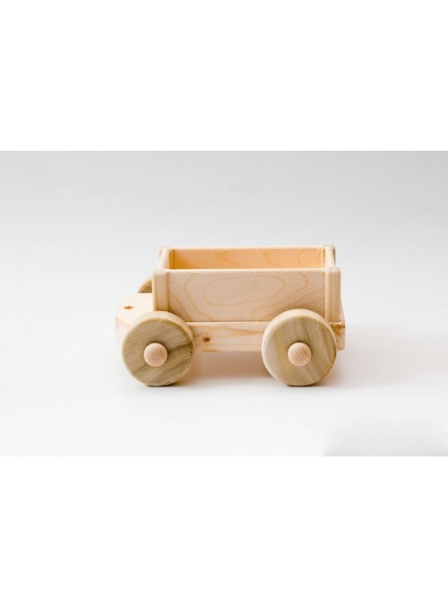 Carro giocattolo da trasporto in legno
