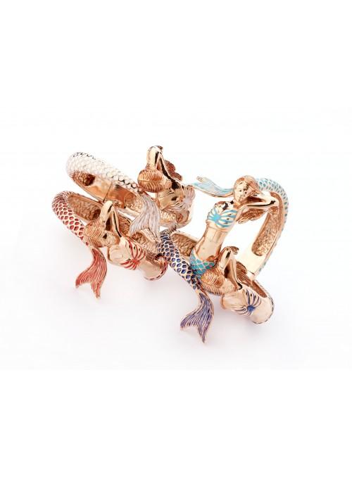 Bracciale in bronzo placcato oro - Contrarié