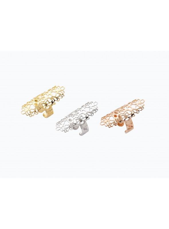 Golden plated bronze ring - Arabian style