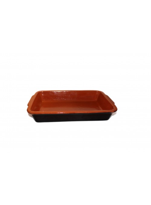 Brown fire clay pan