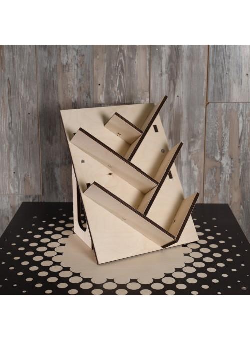 Cantinetta portabottiglie in legno - Contatto
