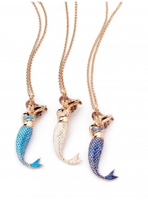 Coda e corpetto per ciondolo Sirena
