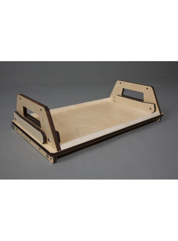 Vassoio in legno multistrato - Nottegiorno