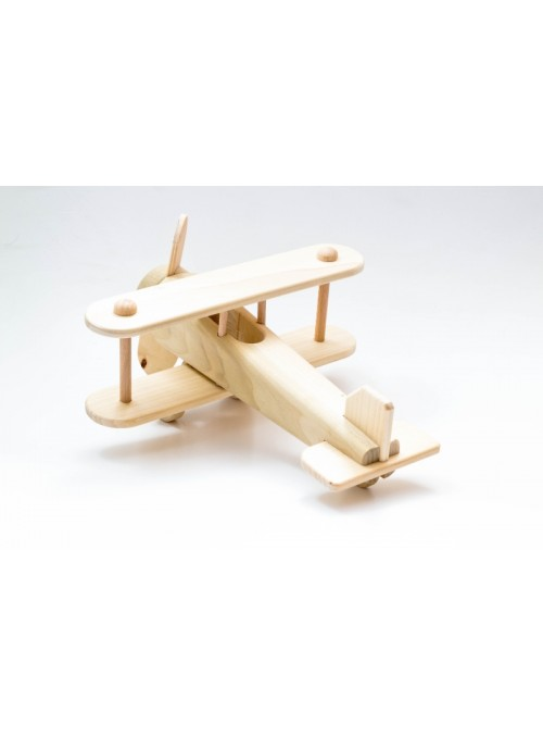 Aereo giocattolo in legno - Spad