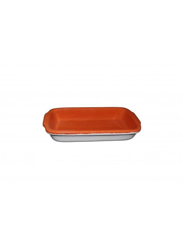 White clay fire pan