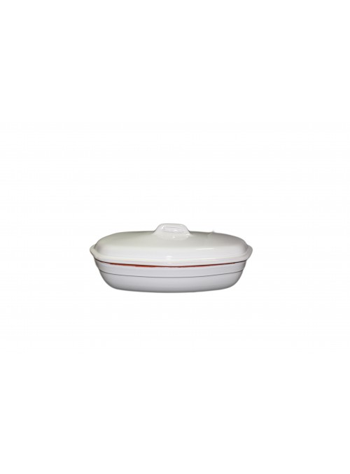 White clay fire pan for chicken