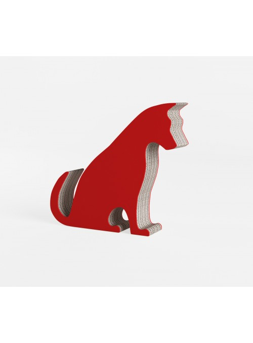 "White or red Cardboard ornament ""Mini Jacky"""