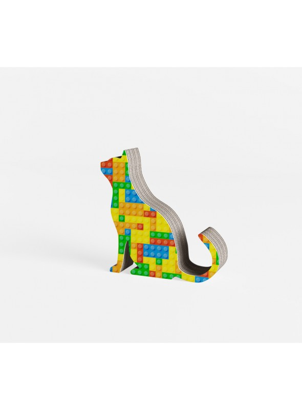 Cardboard ornament Mini Birba in graphics