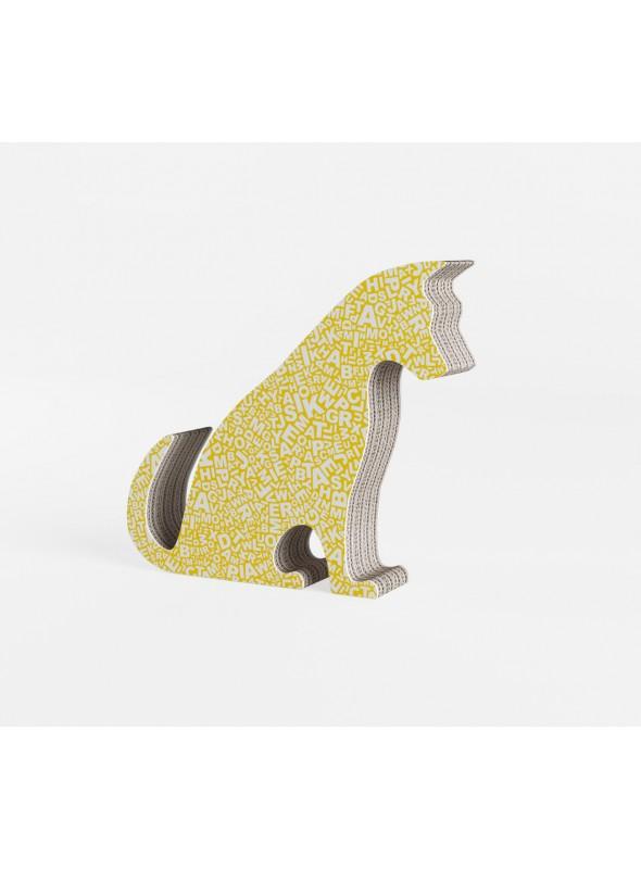 "Cardboard ornament ""Mini Jacky"" in graphics"